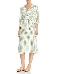 Faithfull the Brand - Racquel Dot Midi Skirt