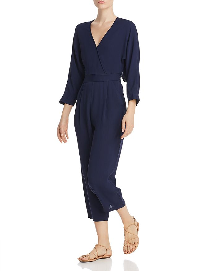 Whistles - Crepe Cropped Jumpsuit - 100% Exclusive