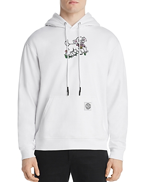 McQ Alexander McQueen Hooded Sheep Graphic Sweatshirt