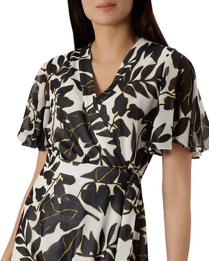 6865f5e2c9 HOBBS LONDON Maria Leaf-Print Wrap Dress - 100% Exclusive ...