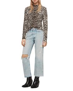 ALLSAINTS - Kiara Leopard-Print Top