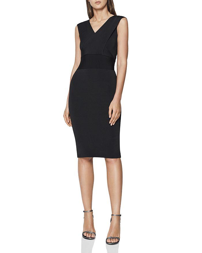 ffd2275b6a REISS - Salvia Knit Body-Con Dress