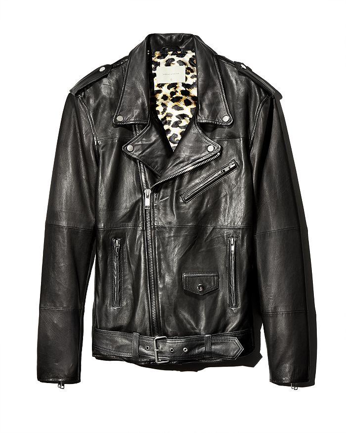 Deadwood - Leroy Leather Motorcycle Jacket