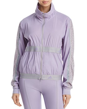1cd0d9d0 adidas by Stella McCartney - Run Mesh-Inset Jacket ...