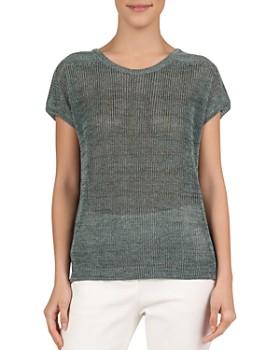 Gerard Darel - June Semi-Sheer Short-Sleeve Sweater