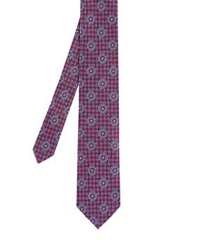d32b75dc1 Ted Baker - Assem Tile Geo Silk Skinny Tie ...