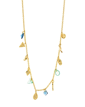 Gorjana Accessories LUCA SHIMMER SHORT NECKLACE, 16