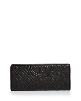 Tory Burch - Fleming Slim Quilted Leather Wallet