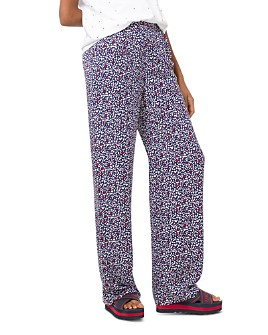 MICHAEL Michael Kors - Heart-Print Silk-Georgette Pajama Pants