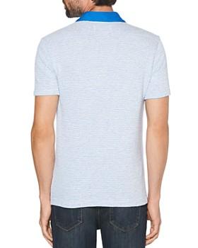Original Penguin - Terry Striped Regular Fit Polo Shirt