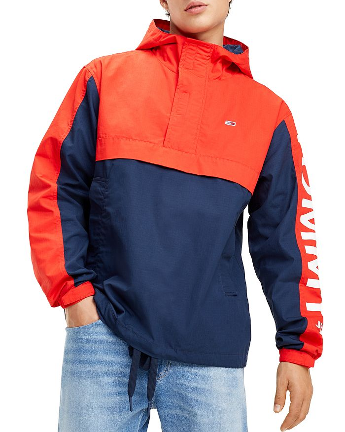 Tommy Jeans - Graphic Color-Block Pullover Jacket