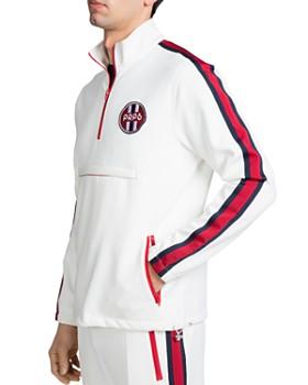 PRPS - Stripe-Trimmed Pullover Track Jacket