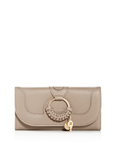 See by Chloé - Hana Leather Continental Wallet