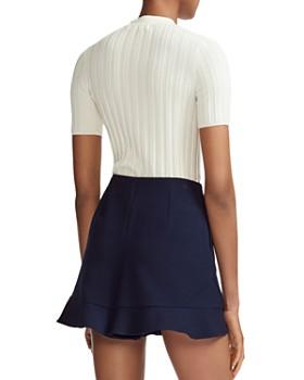 Maje - Morino Short Sleeve Sweater