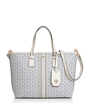 da6336c158f Tory Burch - Small Gemini Link Canvas Tote ...