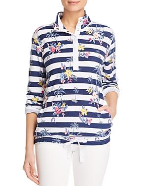 Tommy Bahama Lanai and Order Floral Stripe Sweatshirt
