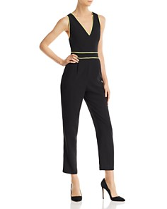 Alice and Olivia - Jeri Piped Jumpsuit