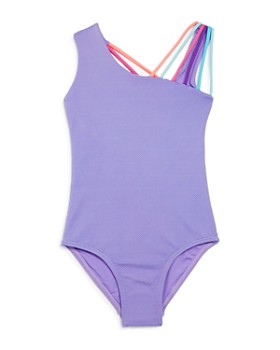 Peixoto - Girls' Olivia Asymmetric & Strappy One-Piece Swimsuit - Little Kid, Big Kid