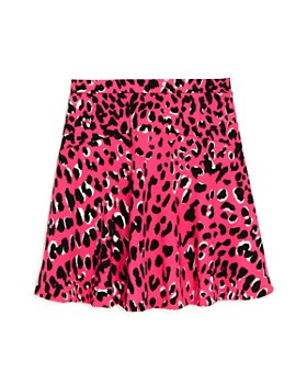 AQUA - Girls' Animal Print A-Line Skirt, Big Kid - 100% Exclusive