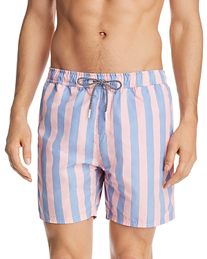 Scotch & Soda Pretty Striped Swim Shorts