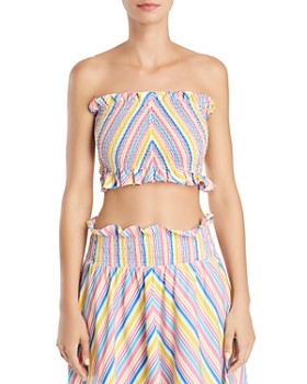 S/W/F - Striped Tube Top