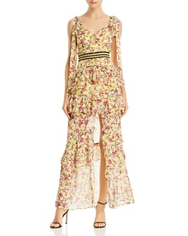 For Love & Lemons - Maison Floral Maxi Dress