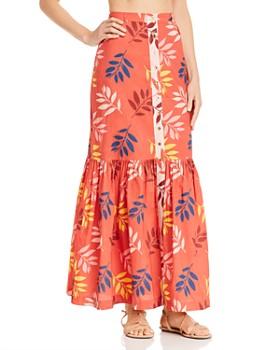 Carolina K - Gigi Printed Maxi Skirt