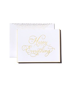 Sugar Paper - Sugar Paper Traditional Happy Everything Card
