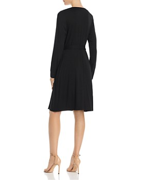 f08a326b6faba8 ... Adrianna Papell - Faux-Wrap Jersey Dress - 100% Exclusive