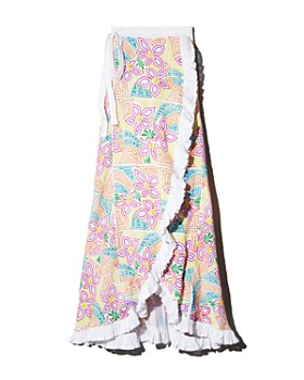 All Things Mochi - Lea Floral Wrap Skirt