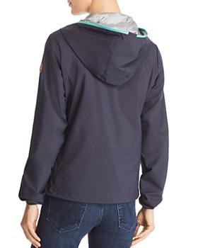 Save The Duck - Contrast Zip Hooded Packable Windbreaker Jacket