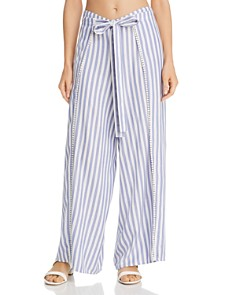 Echo - Striped Breeze Swim Cover-Up Pants