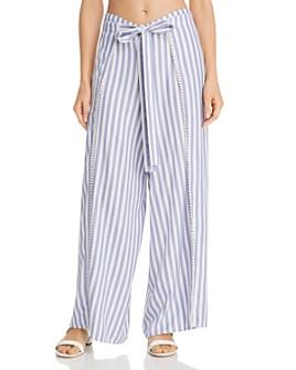 Echo - Striped Breeze Swim Cover-Up Pants