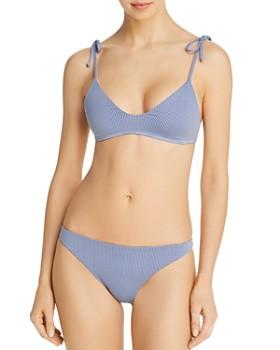 d9532c2df02a6 L*Space - Summer Love Plaid Daisy Bikini Top & Camacho Bikini Bottom