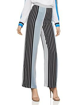 62d4c3ec5d82 BCBGMAXAZRIA - Striped Wide-Leg Pants ...