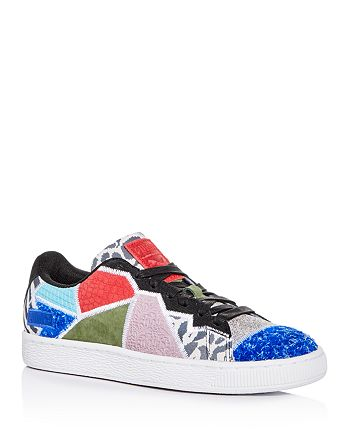 cfd5f22eec34 PUMA - Men s Suede RP Patchwork Low-Top Sneakers