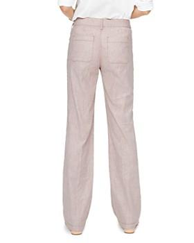 NYDJ - Striped Wide-Leg Pants