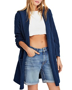 Free People - Snow Angel Hooded Cardigan