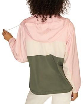 Sanctuary - Color-Block Windbreaker Jacket