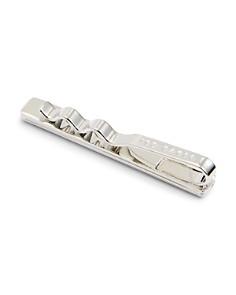 Ted Baker - Easy Corner Crystal Brushed Tie Bar