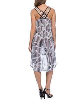 d0fca2567a16d ... Profile by Gottex - Bamboo Mesh Dress Swim Cover-Up