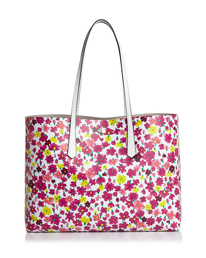kate spade new york - Large Floral Leather Tote