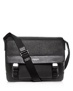 Michael Kors - Greyson Pebbled Leather Messenger Bag