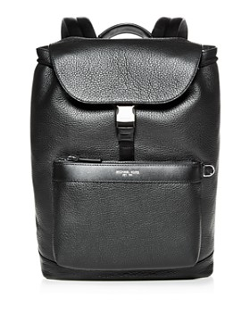 Michael Kors - Greyson Pebbled Leather Field Backpack