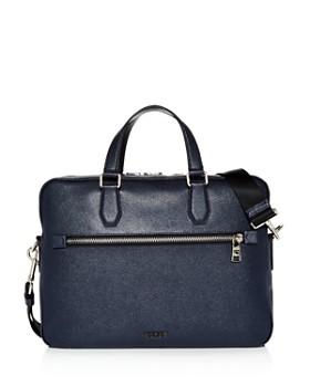 COACH - Kennedy Crossgrain Leather Briefcase