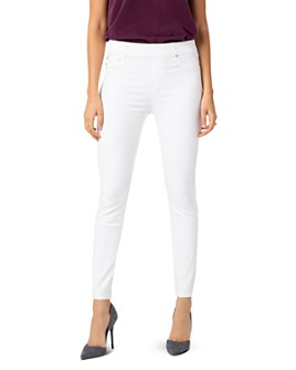 Liverpool Los Angeles - Chloe Skinny Jeans in Bright White