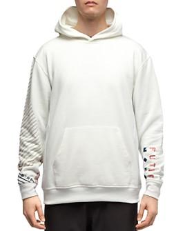 Dyne - Graphic-Sleeve Hooded Sweatshirt