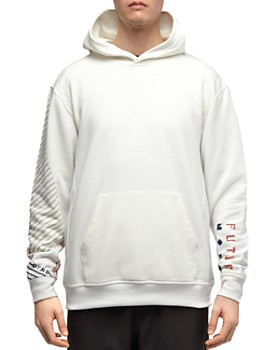 Dyne - Graphic-Sleeve Hooded Sweatshirt