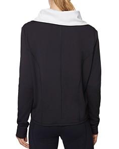 Betsey Johnson - Draped-Lapel Asymmetric Jacket