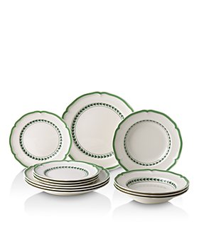 Villeroy & Boch - French Garden Green Lines Dinnerware